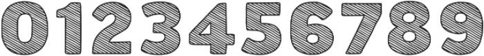 Buket Fat Sketch2 otf (800) Font OTHER CHARS