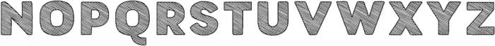 Buket Fat Sketch2 otf (800) Font UPPERCASE