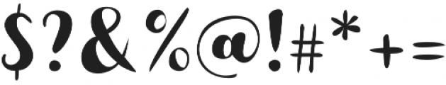 Buket Script Sans otf (400) Font OTHER CHARS