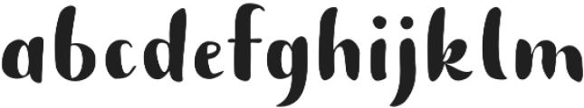 Buket Script Sans otf (400) Font LOWERCASE
