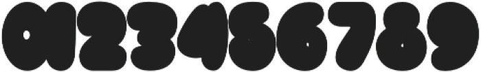 Bulb shadow otf (400) Font OTHER CHARS