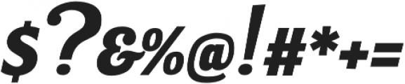 Bulletto Alto otf (400) Font OTHER CHARS