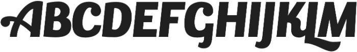 Bulletto otf (400) Font UPPERCASE