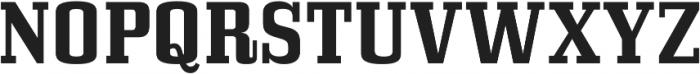 Bullpen Bold otf (700) Font UPPERCASE