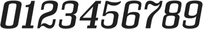 Bullpen Italic otf (400) Font OTHER CHARS