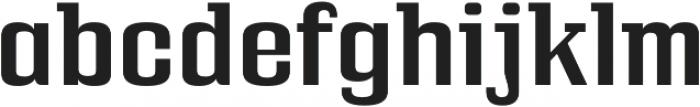 Bullpen Regular otf (400) Font LOWERCASE