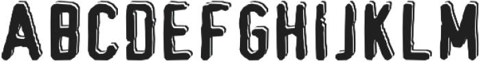 Bullseye otf (400) Font UPPERCASE