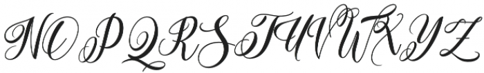 Bungalow Regular otf (400) Font UPPERCASE