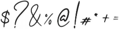 Bunggi otf (400) Font OTHER CHARS
