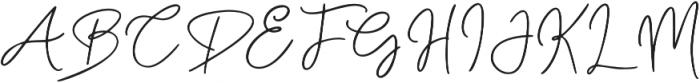Bunggi otf (400) Font UPPERCASE