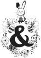 Bunny Hop Monogram ttf (400) Font OTHER CHARS
