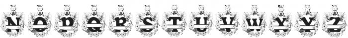 Bunny Hop Split ttf (400) Font UPPERCASE