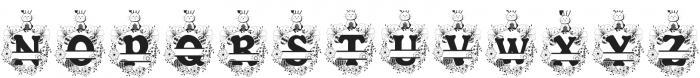 Bunny Hop Split ttf (400) Font LOWERCASE