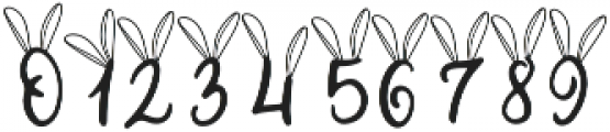 Bunny Tail otf (400) Font OTHER CHARS