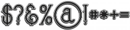 Bureno Bold Regular otf (700) Font OTHER CHARS