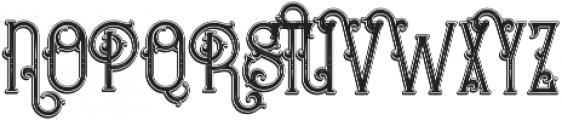 Bureno Bold Regular otf (700) Font UPPERCASE