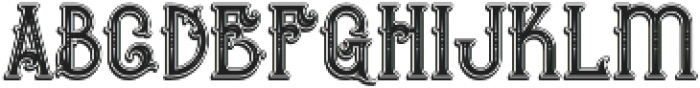 Bureno Bold Regular otf (700) Font LOWERCASE