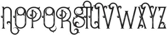 Bureno Regular otf (400) Font UPPERCASE