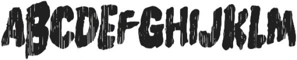 Burger Witch Monster otf (400) Font UPPERCASE