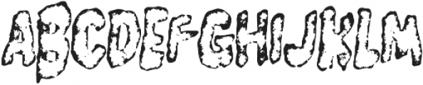 Burger Witch Number 9 otf (400) Font UPPERCASE