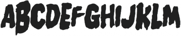 Burger Witch otf (400) Font UPPERCASE