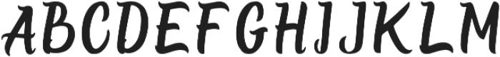 Burgundy Regular ttf (400) Font UPPERCASE
