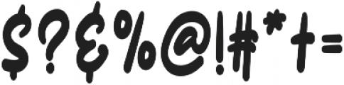 Burgundy Script otf (400) Font OTHER CHARS