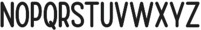 Burline San Serif otf (400) Font UPPERCASE