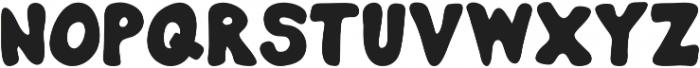 Burly otf (400) Font LOWERCASE