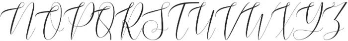 Burnington otf (400) Font UPPERCASE