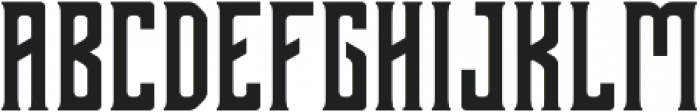 Buron otf (400) Font LOWERCASE