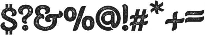 Burton Slab Rough Regular otf (400) Font OTHER CHARS