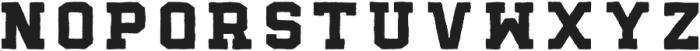 Bushfire Bold otf (700) Font LOWERCASE