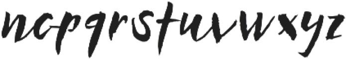 Businessland otf (400) Font LOWERCASE