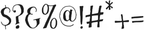 Busker otf (400) Font OTHER CHARS