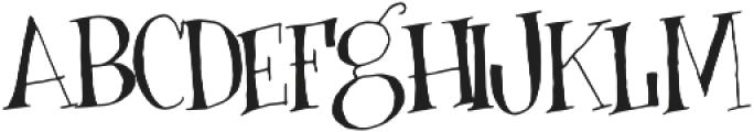 Busker otf (400) Font UPPERCASE
