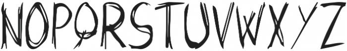Butch otf (400) Font LOWERCASE
