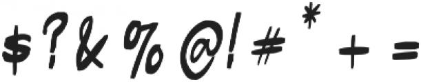 Butner Butner otf (400) Font OTHER CHARS