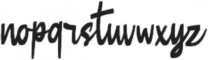 Butner Butner otf (400) Font LOWERCASE