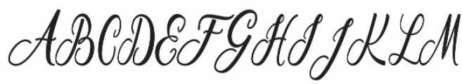 Buttercup otf (400) Font UPPERCASE