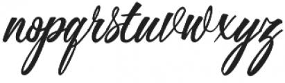 Buttercup otf (400) Font LOWERCASE