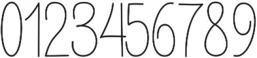 Buttercupline ttf (400) Font OTHER CHARS