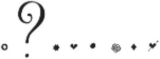 Butterfly Waltz Alt Right R1 Regular otf (400) Font OTHER CHARS