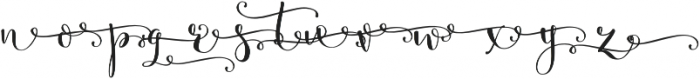 Butterfly Waltz Alt Right R1 Regular otf (400) Font UPPERCASE