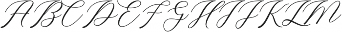 Buttering ttf (400) Font UPPERCASE
