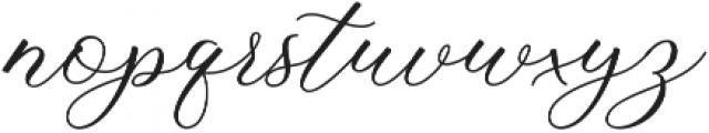 Buttering ttf (400) Font LOWERCASE