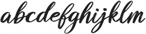 Butterly otf (400) Font LOWERCASE
