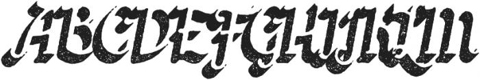Butternut Rough 3D otf (400) Font UPPERCASE