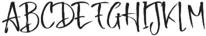 Buttle otf (400) Font UPPERCASE