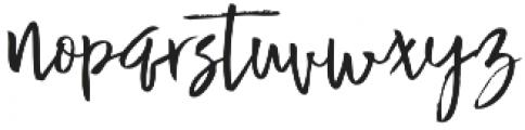 Buttle otf (400) Font LOWERCASE